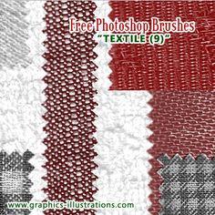Textile Photoshop Brushes