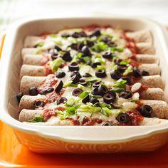 Make ahead meal :: Chicken Enchiladas Adobo