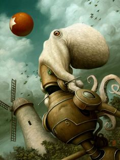 Rise of the Red Star by Brian Despain, 2005. http://despainart.com/