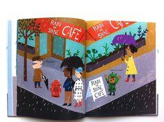 MAKI:minimag_Rain!_by Christian Robinson and Linda Ashman