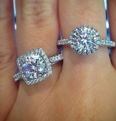Which Modern Ritani Engagement Ring do you prefer?