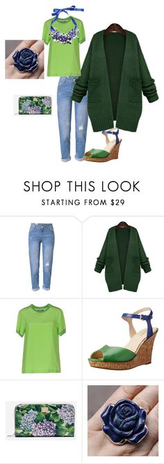 My O-Topfigur by ellamujer on Polyvore featuring Mode, WithChic, Moschino, Nine West, Dolce&Gabbana and P.A.R.O.S.H.