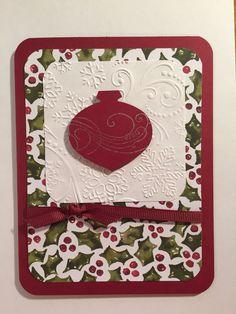 Christmas card, needs ribbon