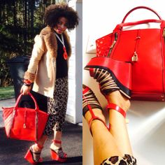 #DeckTheheels #Ambsdr Izumi shoe and Milann bag from @shoedazzle