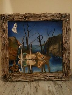Wieszak i obraz w jednym Diy, Painting, Bricolage, Painting Art, Handyman Projects, Paintings, Painted Canvas, Do It Yourself, Fai Da Te
