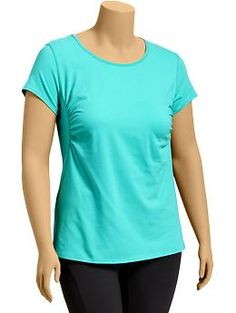 Women's Plus Active Moisture-Wicking Tees | Old Navy