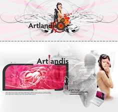 Artlandis Personal Page (v.1) on Behance