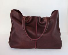 Tote Bag Burgundy