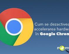 Cum se dezactivează accelerarea hardware în Google Chrome Google Chrome, Tech Logos, Linux, Hardware, School, Computer Hardware, Linux Kernel