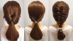 awesome Amazing Hairstyles For Girls 44 Awesome Amazing Hairstyles For Girls About Remodel hair buns with Amazing Hairstyles For Girls Low Ponytail Hairstyles, Cute Little Girl Hairstyles, Trendy Hairstyles, Amazing Hairstyles, Hairstyles Videos, Medium Hair Styles, Short Hair Styles, Wedding Guest Hairstyles, Hair Wedding