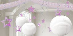 White & Iridescent Decorations - White Balloons, Banners & Confetti - Party City