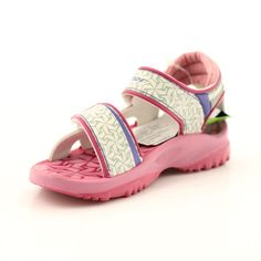Pink sandals children's shoes for water Rider 80608 shades of pink Swimming Sport, Pink Sandals, Comfortable Heels, Childrens Shoes, Blue Accents, Velcro Straps, Sports Shoes, Beige, Gray