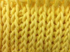 Tunesisch Häkeln - Gittermuster im Strickstich - Veronika Hug - YouTube Crochet Afghan, Tunisian Crochet Stitches, Knit Crochet, Knitting Videos, Crochet Videos, Knooking, Afghan Stitch, Crochet Symbols, Crochet Patterns