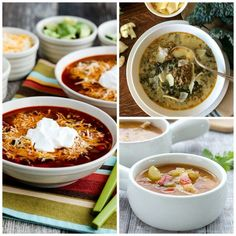 The BEST Low-Carb Instant Pot Soup Recipes featured for Low-Carb Recipe Love on KalynsKitchen.com