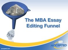 winning mba essays