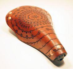 Beautiful Tooled Leather Bike Saddles - Neatorama
