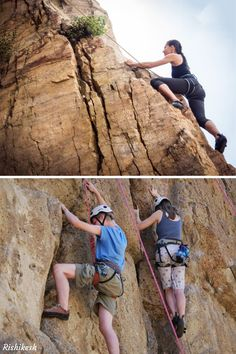 Are you an adventure lover? Taste the thrill of rock climbing in Rishikesh, which is undoubtedly one of the best adventure sports in Rishikesh. All you need to do is balance and keep moving towards the top. You can enjoy this activity at Shivalik Hills and various other points. There are many other adventurous activities to enjoy, like River Rafting, Camping, Bungee Jumping, and Cliff Jumping etc.  #Adventure #Rock_Climbing #Rishikesh Bungee Jumping, Rishikesh, Rock Climbing, Rafting, Cliff, River, Activities, Adventure, Sports