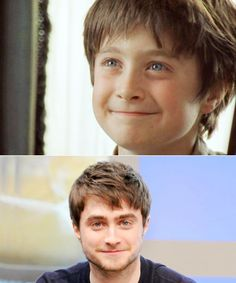 Look at little Harry! How could you put that face in the cupboard under the stairs? HOW?