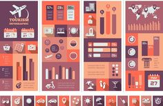 Travel Infographic Elements on Behance