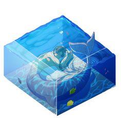 Merman Haruka~ I would happily cuddle with you, Haru-chan! Even if I hate cuddling Real Mermaids, Mermaids And Mermen, Fantasy Creatures, Mythical Creatures, Character Concept, Character Design, Mermaid Man, Aquarium, Historia Natural