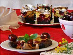 Prăjitură bicoloră cu vișine Tacos, Mexican, Ethnic Recipes, Food, Essen, Meals, Yemek, Mexicans, Eten