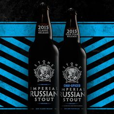 mybeerbuzz.com - Bringing Good Beers & Good People Together...: Stone 2015 Stone Imperial Russian Stout & Odd year...