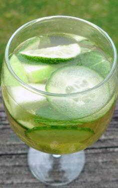 green summer sangria
