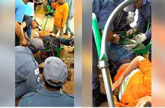 #News  Homem tem perna esmagada por máquina em Jequitaí no Norte de Minas