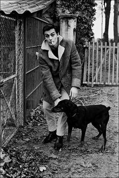 Alain Delon, I like his coat.