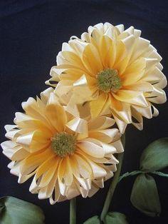 DIY Crafts : DIY Ribbon flower