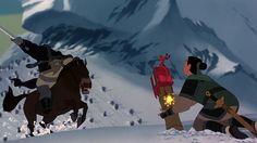 Mulan... a great scene