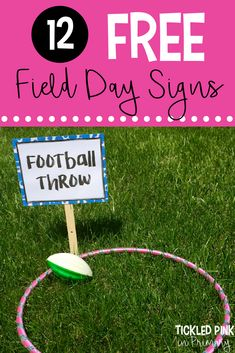 Field Day Games For Kids Discover Field Day Games with 12 FREE Signs Tickled Pink in Primary 12 FREE field day games and signs to entertain your students for the end of the year. If you are allowed to do water activities Drip Drip Drop is a must!