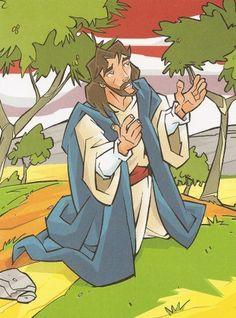 Jesus-orando1.jpg (370×500)