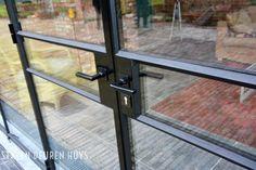 Stalen buiten pui HR++ glas, Project Dessel Heide
