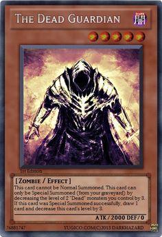 YugiCo.com Price Guide | Yu-Gi-Oh! Cards | DarkHazard Created Cards Guard - The Dead Guardian custom-made YuGiOh card