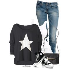 """Star"" by archimedes16 on Polyvore"