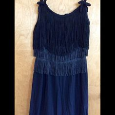 Adorable roaring twenties style dress Cute little black dress with lots of swingy fringe! Party!!! Dresses