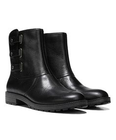This Black Tynner Leather Ankle Boot is perfect! #zulilyfinds