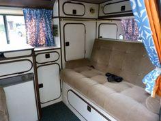 VW-T25-Campervan Land Rover Defender, Trailers, Kombi Interior, Volkswagen Bus, Campervan, Van Life, Motorhome, Interiors, Paint