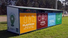 El Punto Limpio está en tu barrio :: Municipalidad de Corral ... Recycling Station, Ads Creative, Trash Bins, Parking Lot, Sustainability, Backyard, Community, Earth, Graphic Design