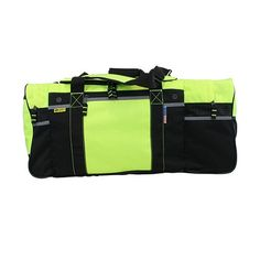 This gear bag will have firefighters asking you where you bought this! Plenty of room for all your turnout gear, boots, helmet, personal equipment and supplies International High Visibility Large Turnout Gear Bag The Fire Store, Firefighting, Pediatrics, Travel Style, Travel Bags, Gears, Hobbies, Stuff To Buy, Travel Handbags