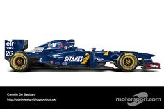 Retro F1 car - Ligier 1995