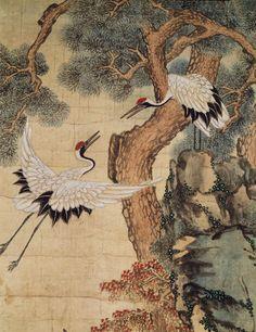 국립중앙박물관에전시중인작품 일백 설흔번째 입니다 : 네이버 블로그 Japanese Art Prints, Japanese Drawings, Dark Art Illustrations, Art And Illustration, Botanical Illustration, Chinese Painting, Chinese Art, Oriental, Frida Art
