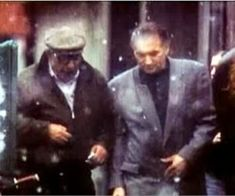 """Michael's roots in the Gambino crime family are quite deep, to the extent that, as he tells Ralph W. McElvenny, """"My goal when I was years old was to be a capo in the Gambino family. Hunt And Fish Club, Mafia Gangster, Nerd Humor, 12 Year Old, Palermo, Crime, Ocean, Guys, Fictional Characters"""