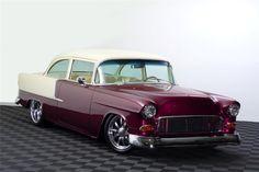 1955 CHEVROLET 210 CUSTOM 2 DOOR HARDTOP - Barrett-Jackson Auction Company - World's Greatest Collector Car Auctions