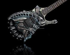 The Alien from DMG Custom Guitars