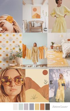 SOLAR POWER Color Inspiration, Inspiration Boards, Color Trends, Solar Power, Service Design, Color Combinations, Print Patterns, Print Design, Fashion Trends