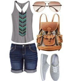 More summer stuff, made on polyvore