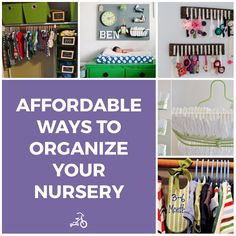 8 Genius Ways to Organize Your Nursery On a Shoestring Budget