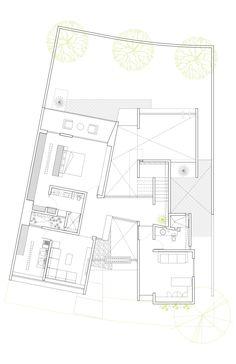 Farnsworth house plan section elevation | Arquitectura | Pinterest ...
